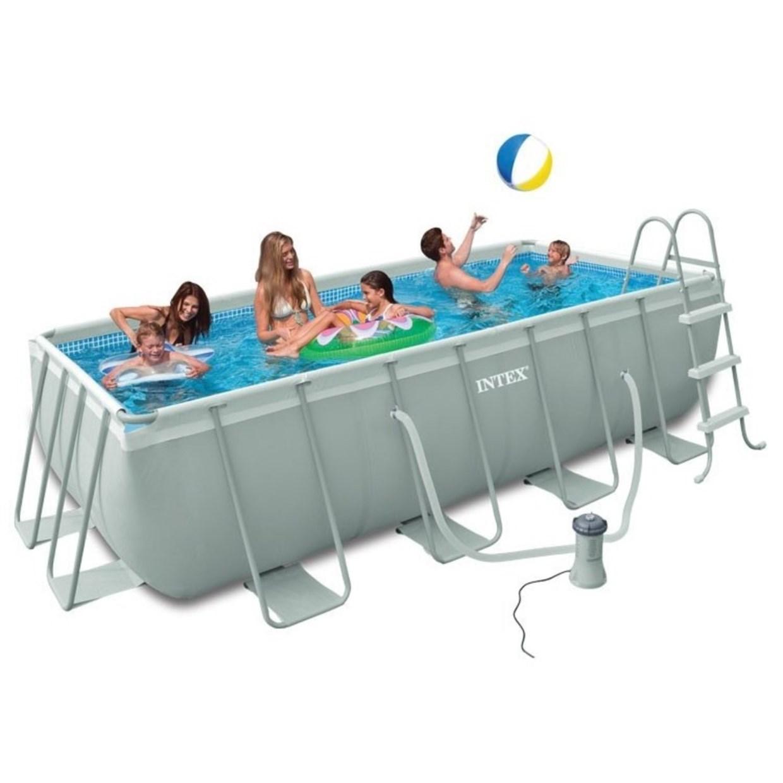 Intex zwembad ultra frame 400 x 200 x 100 cm de boer for Intex pool aktion