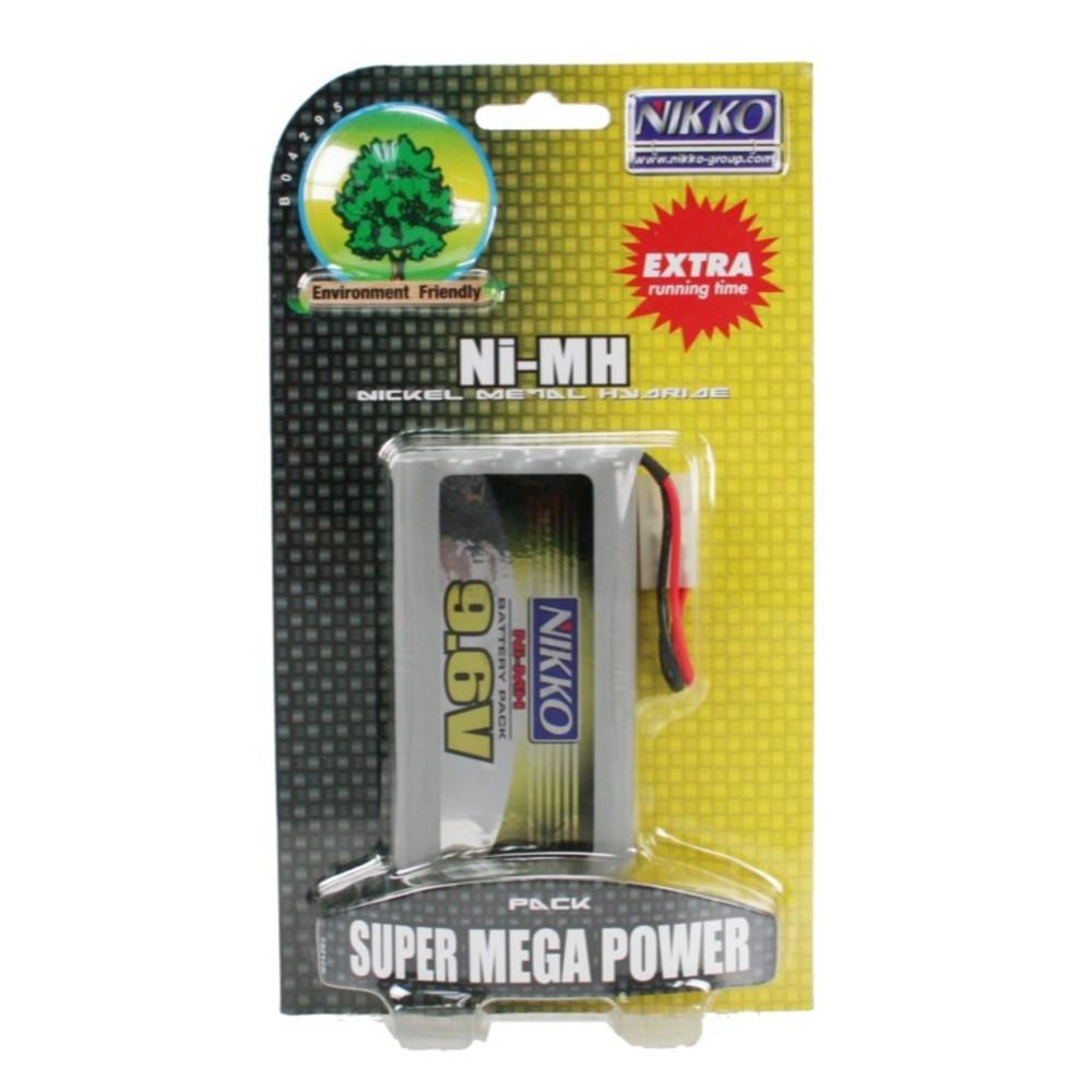 Nikko Mega Accu Pack Ni-MH 9,6v