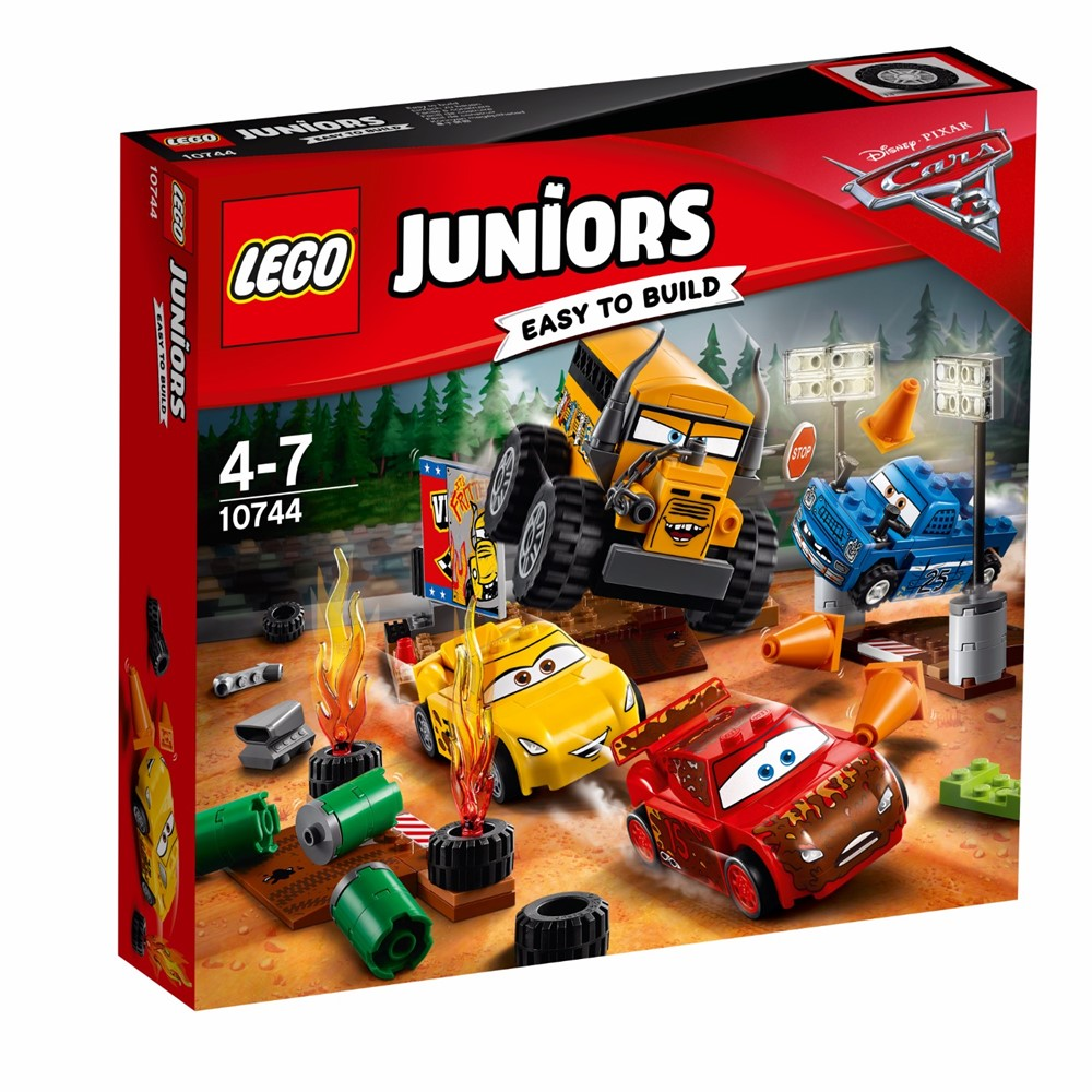 10744 Lego Juniors Cars 3 Thunder Hollow Crazy 8 Race
