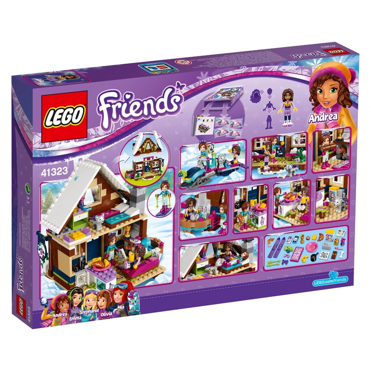 21 images lego friends ski resort