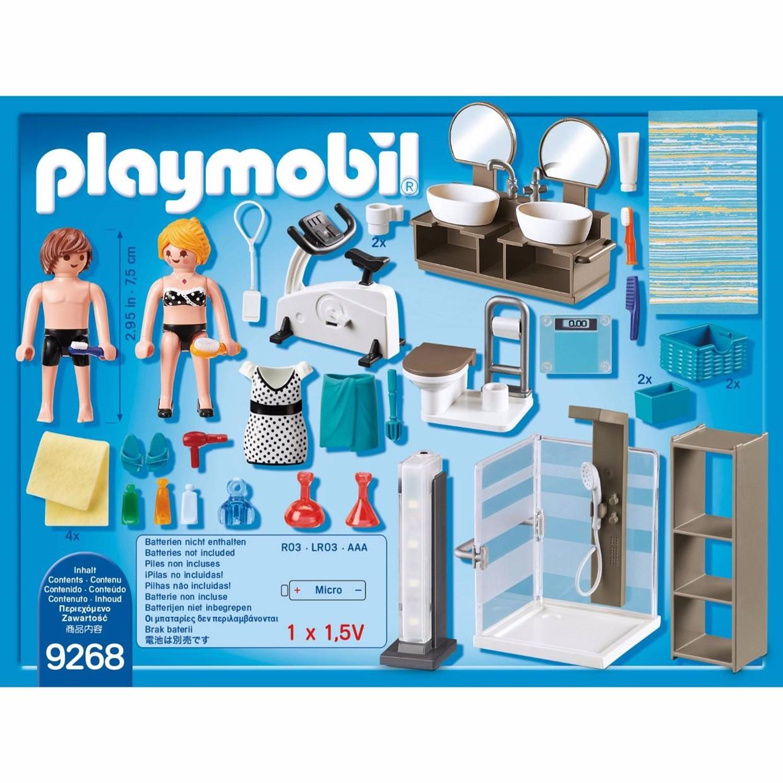 Playmobil City Life 9268 - Badkamer met douche - De Boer - speelgoed